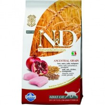 N&D CAT LG adult chicken & pomegranate 5 kg