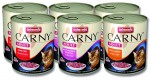6x Animonda CARNY® cat Adult  MIX 400 g